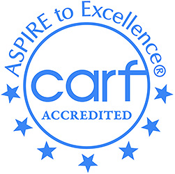 Aspure to Excellence CARF accredited